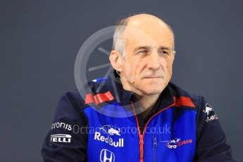 World © Octane Photographic Ltd. Formula 1 - Japanese GP - Friday FIA Team Press Conference. Franz Tost – Team Principal of Scuderia Toro Rosso. Suzuka Circuit, Japan. Friday 5th October 2018.