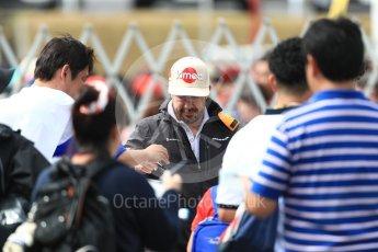 World © Octane Photographic Ltd. Formula 1 – Japanese GP - Paddock. McLaren MCL33 – Fernando Alonso. Suzuka Circuit, Japan. Saturday 6th October 2018.