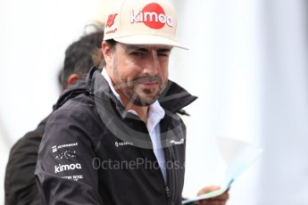 World © Octane Photographic Ltd. Formula 1 – Japanese GP - Paddock. McLaren MCL33 – Fernando Alonso. Suzuka Circuit, Japan. Saturday 6th October 2018.