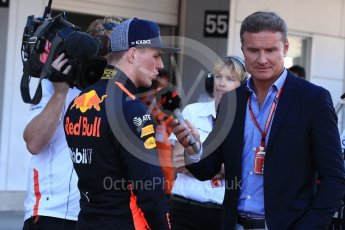 World © Octane Photographic Ltd. Formula 1 – Japanese GP - Parc Ferme. Aston Martin Red Bull Racing TAG Heuer RB14 – Max Verstappen. Suzuka Circuit, Japan. Sunday 7th October 2018.