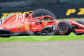 World © Octane Photographic Ltd. Formula 1 – Japanese GP - Practice 1. Scuderia Ferrari SF71-H – Kimi Raikkonen. Suzuka Circuit, Japan. Friday 5th October 2018.