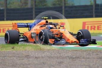 World © Octane Photographic Ltd. Formula 1 – Japanese GP - Practice 1. McLaren MCL33 Reserve Driver – Lando Norris. Suzuka Circuit, Japan. Friday 5th October 2018.
