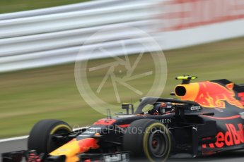 World © Octane Photographic Ltd. Formula 1 – Japanese GP - Practice 1. Aston Martin Red Bull Racing TAG Heuer RB14 – Max Verstappen. Suzuka Circuit, Japan. Friday 5th October 2018.