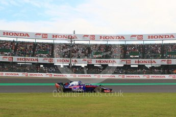 World © Octane Photographic Ltd. Formula 1 – Japanese GP - Practice 2. Scuderia Toro Rosso STR13 – Brendon Hartley. Suzuka Circuit, Japan. Friday 5th October 2018.