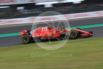 World © Octane Photographic Ltd. Formula 1 – Japanese GP - Practice 2. Scuderia Ferrari SF71-H – Kimi Raikkonen. Suzuka Circuit, Japan. Friday 5th October 2018.