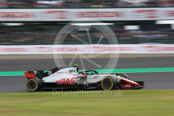 World © Octane Photographic Ltd. Formula 1 – Japanese GP - Practice 2. Haas F1 Team VF-18 – Kevin Magnussen. Suzuka Circuit, Japan. Friday 5th October 2018.