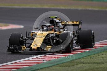 World © Octane Photographic Ltd. Formula 1 – Japanese GP - Practice 2. Renault Sport F1 Team RS18 – Carlos Sainz. Suzuka Circuit, Japan. Friday 5th October 2018.