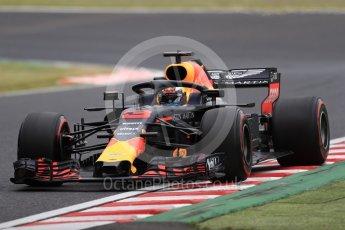 World © Octane Photographic Ltd. Formula 1 – Japanese GP - Practice 2. Aston Martin Red Bull Racing TAG Heuer RB14 – Daniel Ricciardo. Suzuka Circuit, Japan. Friday 5th October 2018.