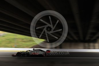 World © Octane Photographic Ltd. Formula 1 – Japanese GP - Practice 2. Haas F1 Team VF-18 – Romain Grosjean. Suzuka Circuit, Japan. Friday 5th October 2018.