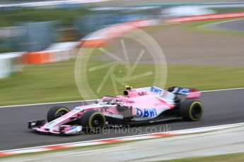 World © Octane Photographic Ltd. Formula 1 – Japanese GP - Practice 3. Racing Point Force India VJM11 - Esteban Ocon. Suzuka Circuit, Japan. Saturday 6th October 2018.