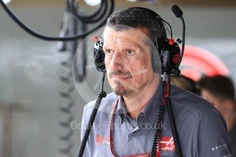 World © Octane Photographic Ltd. Formula 1 - Japanese GP - Practice 3. Guenther Steiner - Team Principal of Haas F1 Team. Suzuka Circuit, Japan. Saturday 6th October 2018.