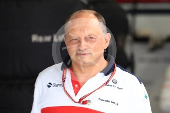 World © Octane Photographic Ltd. Formula 1 - Japanese GP - Practice 3. Frederic Vasseur – Team Principal and CEO of Sauber Motorsport AG. Suzuka Circuit, Japan. Saturday 6th October 2018.