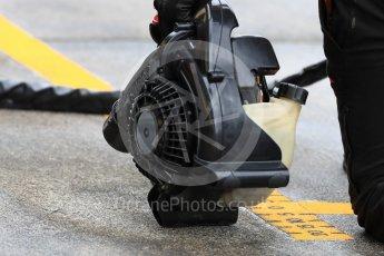 World © Octane Photographic Ltd. Formula 1 – Japanese GP - Practice 3. Drying the pit box. Suzuka Circuit, Japan. Saturday 6th October 2018.