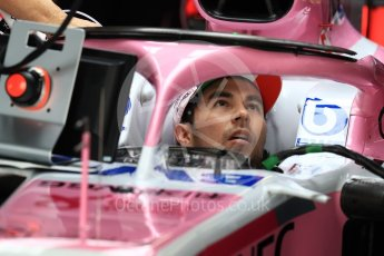 World © Octane Photographic Ltd. Formula 1 – Japanese GP - Practice 3. Racing Point Force India VJM11 - Sergio Perez. Suzuka Circuit, Japan. Saturday 6th October 2018.