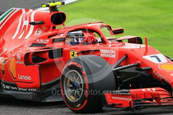 World © Octane Photographic Ltd. Formula 1 – Japanese GP - Qualifying. Scuderia Ferrari SF71-H – Kimi Raikkonen. Suzuka Circuit, Japan. Saturday 6th October 2018.