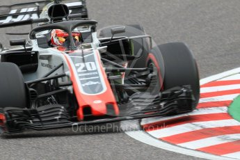 World © Octane Photographic Ltd. Formula 1 – Japanese GP - Qualifying. Haas F1 Team VF-18 – Kevin Magnussen. Suzuka Circuit, Japan. Saturday 6th October 2018.
