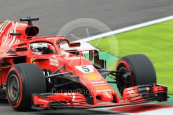 World © Octane Photographic Ltd. Formula 1 – Japanese GP - Qualifying. Scuderia Ferrari SF71-H – Sebastian Vettel. Suzuka Circuit, Japan. Saturday 6th October 2018.