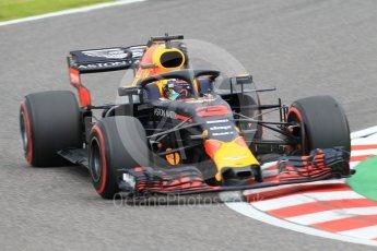 World © Octane Photographic Ltd. Formula 1 – Japanese GP - Qualifying. Aston Martin Red Bull Racing TAG Heuer RB14 – Daniel Ricciardo. Suzuka Circuit, Japan. Saturday 6th October 2018.