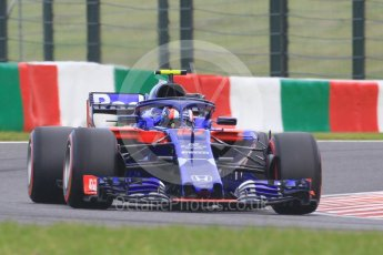 World © Octane Photographic Ltd. Formula 1 – Japanese GP - Qualifying. Scuderia Toro Rosso STR13 – Pierre Gasly. Suzuka Circuit, Japan. Saturday 6th October 2018.