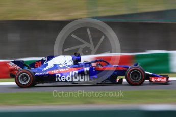 World © Octane Photographic Ltd. Formula 1 – Japanese GP - Qualifying. Scuderia Toro Rosso STR13 – Brendon Hartley. Suzuka Circuit, Japan. Saturday 6th October 2018.