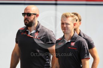 World © Octane Photographic Ltd. Formula 1 – Japanese GP - Paddock. Haas F1 Team VF-18 – Kevin Magnussen. Suzuka Circuit, Japan. Sunday 7th October 2018.