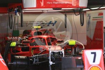 World © Octane Photographic Ltd. Formula 1 – Japanese GP - Pit Lane. Scuderia Ferrari SF71-H – Kimi Raikkonen. Suzuka Circuit, Japan. Sunday 7th October 2018.