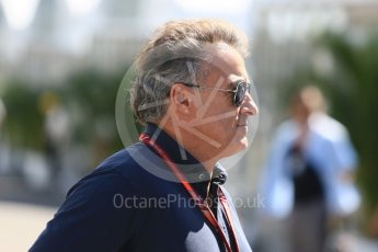 World © Octane Photographic Ltd. Formula 1 – Japanese GP - Paddock. Jean Alesi. Suzuka Circuit, Japan. Sunday 7th October 2018.