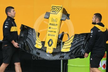 World © Octane Photographic Ltd. Formula 1 – Japanese GP - Paddock. Renault Sport F1 Team RS18 – Nico Hulkenberg. Suzuka Circuit, Japan. Thursday 4th October 2018.
