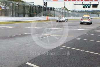 World © Octane Photographic Ltd. Formula 1 – Japanese GP - Pit Lane. Mercedes AMG Safety Car and Medical Car. Suzuka Circuit, Japan. Thursday 4th October 2018.