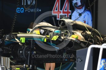 World © Octane Photographic Ltd. Formula 1 – Japanese GP – Paddock. Mercedes AMG Petronas Motorsport AMG F1 W09 EQ Power+ - Lewis Hamilton. Suzuka Circuit, Japan. Thursday 4th October 2018.