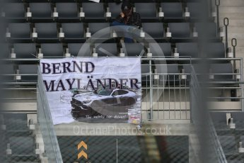 World © Octane Photographic Ltd. Formula 1 – Japanese GP - Pit Lane. Bernd Maylander fans' flag - Mercedes AMG Safety Car. Suzuka Circuit, Japan. Thursday 4th October 2018.