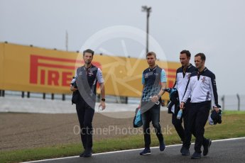 World © Octane Photographic Ltd. Formula 1 – Japanese GP - Track Walk. Williams Martini Racing FW41 – Sergey Sirotkin. Suzuka Circuit, Japan. Thursday 4th October 2018.