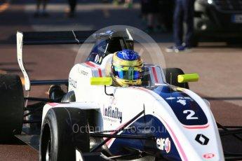 World © Octane Photographic Ltd. Formula Renault 2.0 – Monaco GP - Practice. Monte-Carlo. R-Ace GP - Logan Sargeant. Thursday 24th May 2018.
