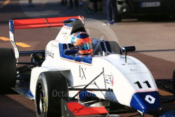 World © Octane Photographic Ltd. Formula Renault 2.0 – Monaco GP - Practice. Monte-Carlo. Joseph Kaufmann Racing - Clement Novalek. Thursday 24th May 2018.