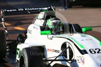 World © Octane Photographic Ltd. Formula Renault 2.0 – Monaco GP - Practice. Monte-Carlo. JD Motorsport - Thomas Maxwell. Thursday 24th May 2018.