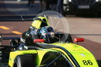 World © Octane Photographic Ltd. Formula Renault 2.0 – Monaco GP - Practice. Monte-Carlo. Fortec Motorsports - Christian Hahn. Thursday 24th May 2018.