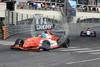 World © Octane Photographic Ltd. Formula Renault 2.0 – Monaco GP - Qualifying. Monte-Carlo. MP Motorsport - Max Defournay and JD Motorsport - Lorenzo Colombo. Friday 25th May 2018.
