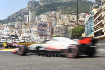 World © Octane Photographic Ltd. Formula 1 – Monaco GP - Practice 3. Haas F1 Team VF-18 – Kevin Magnussen. Monte-Carlo. Saturday 26th May 2018.