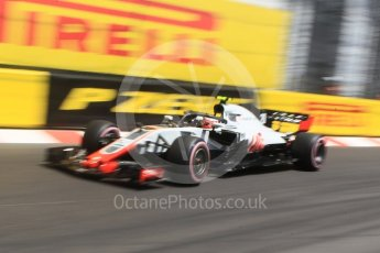 World © Octane Photographic Ltd. Formula 1 – Monaco GP - Practice 3. Haas F1 Team VF-18 – Kevin Magnussen. Monte-Carlo. Saturday 26th May 2018.