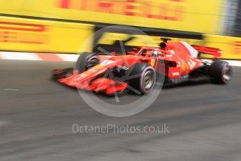 World © Octane Photographic Ltd. Formula 1 – Monaco GP - Practice 3. Scuderia Ferrari SF71-H – Sebastian Vettel. Monte-Carlo. Saturday 26th May 2018.