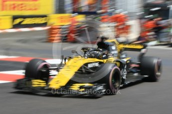 World © Octane Photographic Ltd. Formula 1 – Monaco GP - Practice 3. Renault Sport F1 Team RS18 – Nico Hulkenberg. Monte-Carlo. Saturday 26th May 2018.