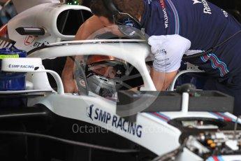 World © Octane Photographic Ltd. Formula 1 – Monaco GP - Practice 3. Williams Martini Racing FW41 – Sergey Sirotkin. Monte-Carlo. Saturday 26th May 2018.