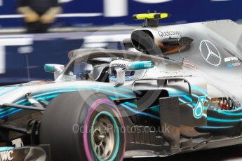 World © Octane Photographic Ltd. Formula 1 – Monaco GP - Practice 1. Mercedes AMG Petronas Motorsport AMG F1 W09 EQ Power+ - Valtteri Bottas. Monte-Carlo. Thursday 24th May 2018.