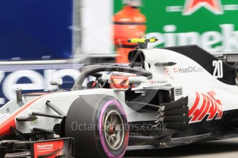 World © Octane Photographic Ltd. Formula 1 – Monaco GP - Practice 1. Haas F1 Team VF-18 – Kevin Magnussen. Monte-Carlo. Thursday 24th May 2018.