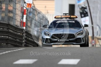 World © Octane Photographic Ltd. Formula 1 – Monaco GP - Practice 1. Mercedes AMG Safety Car. Monte-Carlo. Thursday 24th May 2018.