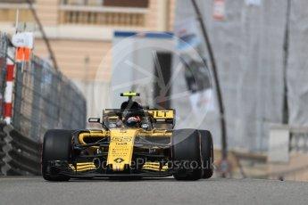 World © Octane Photographic Ltd. Formula 1 – Monaco GP - Practice 1. Renault Sport F1 Team RS18 – Carlos Sainz. Monte-Carlo. Thursday 24th May 2018.