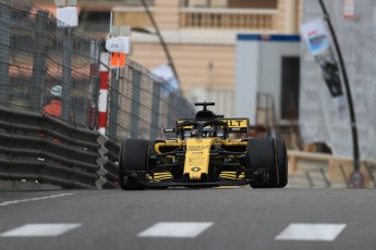 World © Octane Photographic Ltd. Formula 1 – Monaco GP - Practice 1. Renault Sport F1 Team RS18 – Nico Hulkenberg. Monte-Carlo. Thursday 24th May 2018.