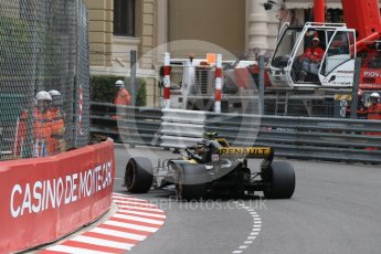 World © Octane Photographic Ltd. Formula 1 – Monaco GP - Practice 1. Renault Sport F1 Team RS18 – Carlos Sainz. Monte-Carlo. Thursday 24th May 2018.