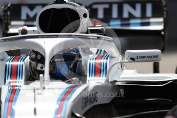 World © Octane Photographic Ltd. Formula 1 – Monaco GP - Practice 2. Williams Martini Racing FW41 – Lance Stroll. Monte-Carlo. Thursday 24th May 2018.