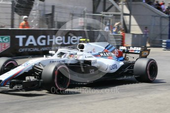 World © Octane Photographic Ltd. Formula 1 – Monaco GP - Qualifying. Williams Martini Racing FW41 – Sergey Sirotkin. Monte-Carlo. Saturday 26th May 2018.